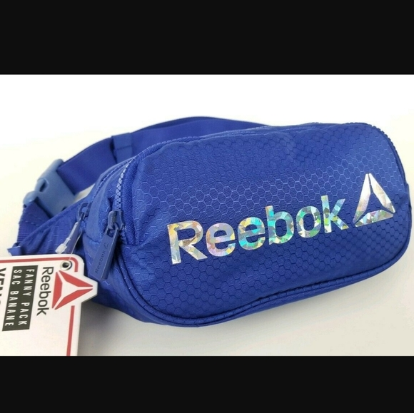 Reebok Other - Reebok Reflective Cobalt Fanny \ Chest Pack